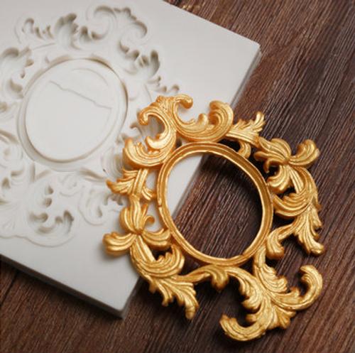 Frame filigree Mold -PM299