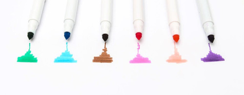 Edible Ink Markers (6 colours) Set 2