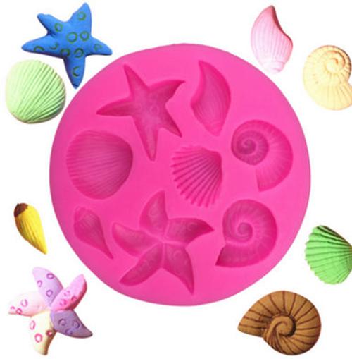 Sea Shell   Silicone Mold Set
