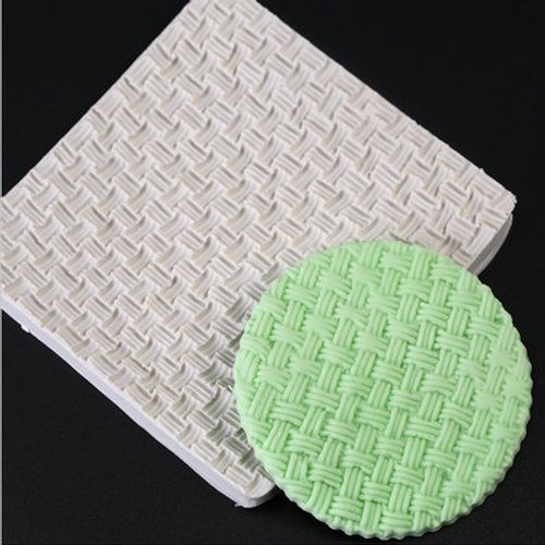 Knit/ Weave  Impression  Silicone Mold-101