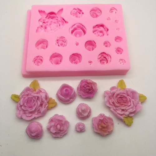 Mixed Flower Mold PM328