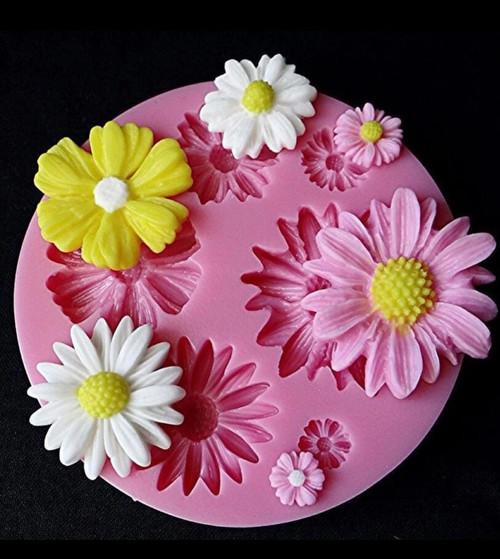 Daisy Flower Mold PM325