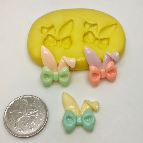 Small Easter Bunny Ears Mold Silicone