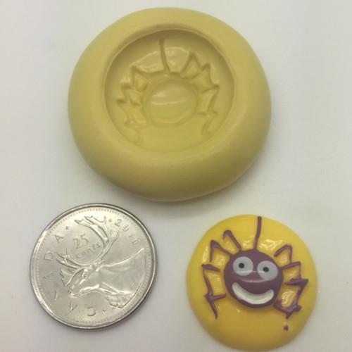 Spider Cute Mini  Silicone Mold