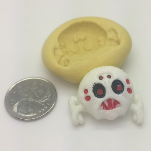 Spider Scary  Silicone Mold