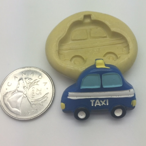 Taxi Car  Silicone Mold