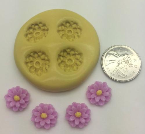 Daisy Mini  Silicone Mold