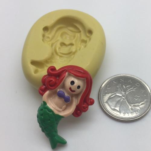 Mermaid Girl   Silicone Mold