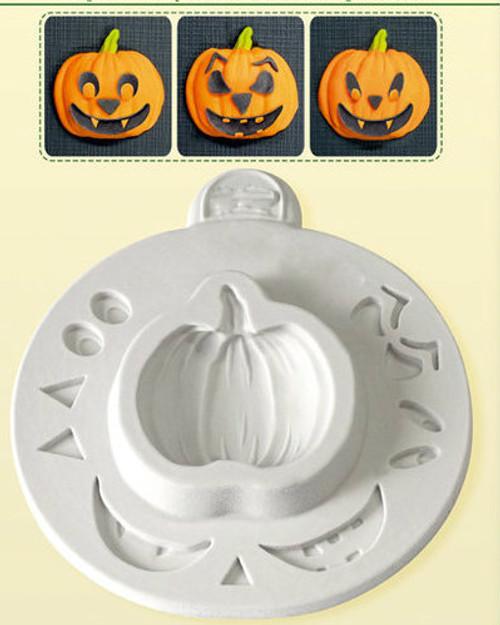 Pumpkin Face Mold  S3