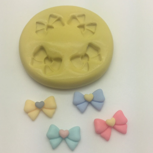 Bow Mini Silcione Mold Set