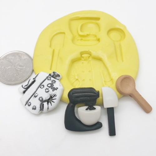 Kitchen Mixer  silicone mold set