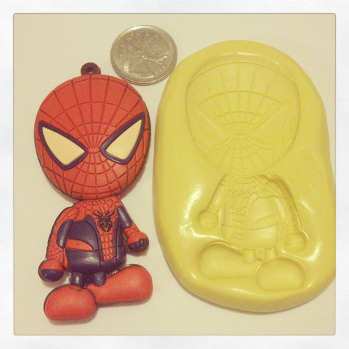 XL Spiderman Mold Silicone