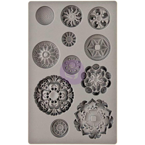 Medallions Vintage Art Decor Mold