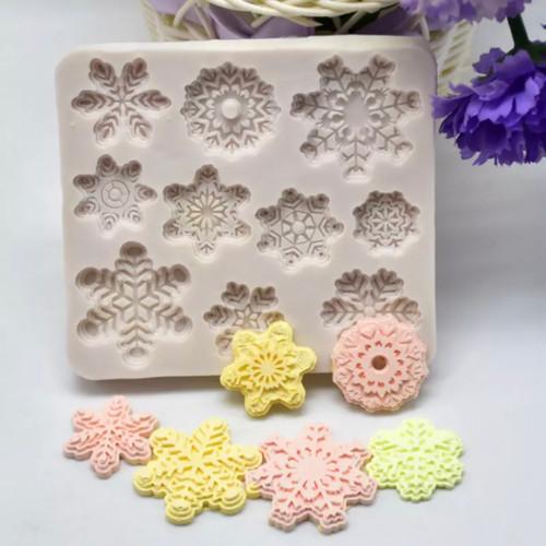 Snowflake Mold- PM308