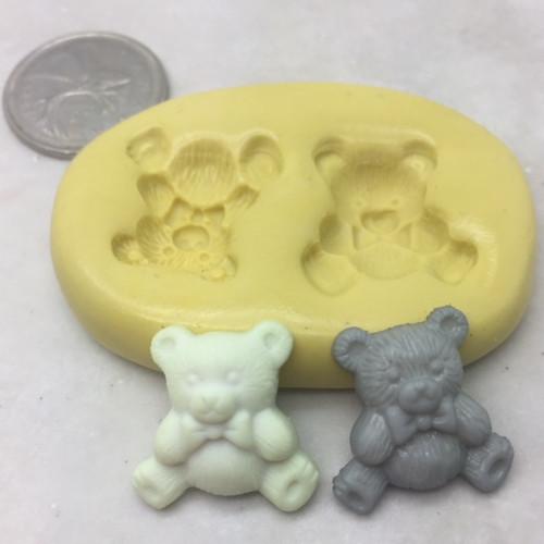 Bear Baby  Silicone  Mold