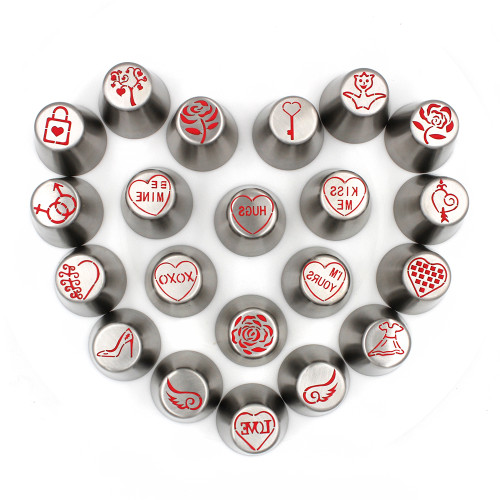 Valentines Day  Russian 21pc Set Tips * Limited Edition
