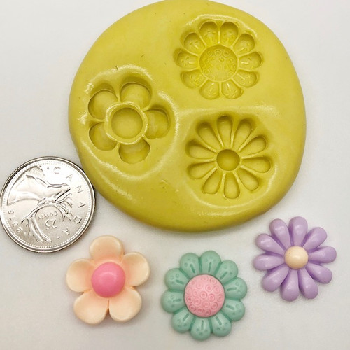 Flower Small Mixed Silicone Mold
