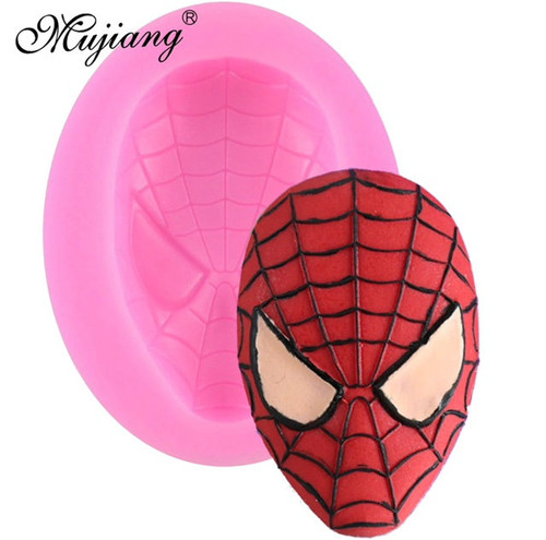 Spiderman Face Mold pm427