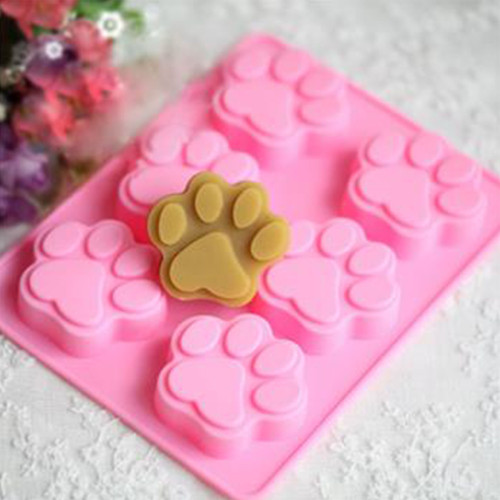 PAW  (Fits cookies) Silicone Mold