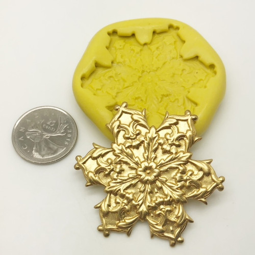 Fancy Snowflake Silicone Mold