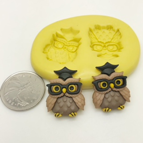 Graduation Owl Mold