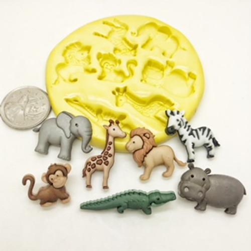 Safari Animals Mold