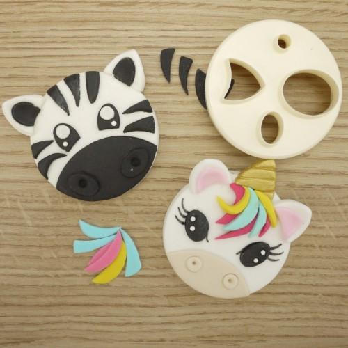 Face  animal Mix N Match Cutter