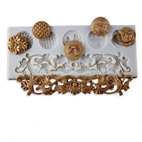 Fancy  Accent Mold Set