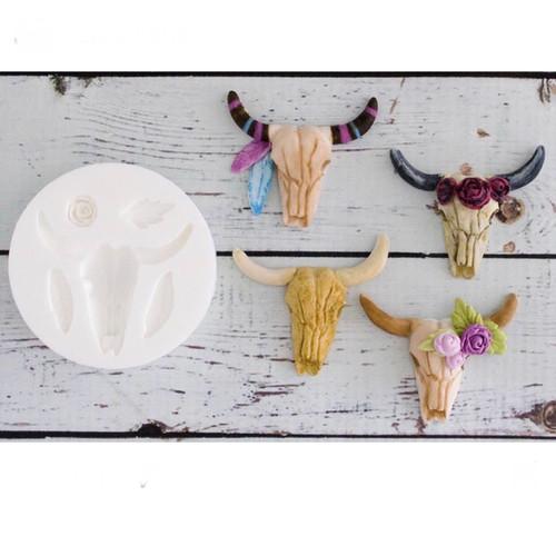 Bull /Bison Skull  Mold