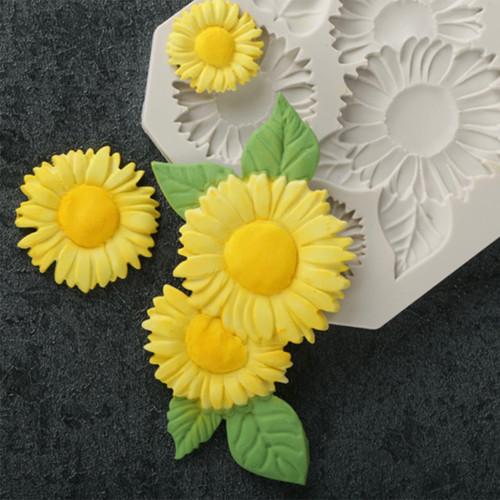 Sun flower mold Set