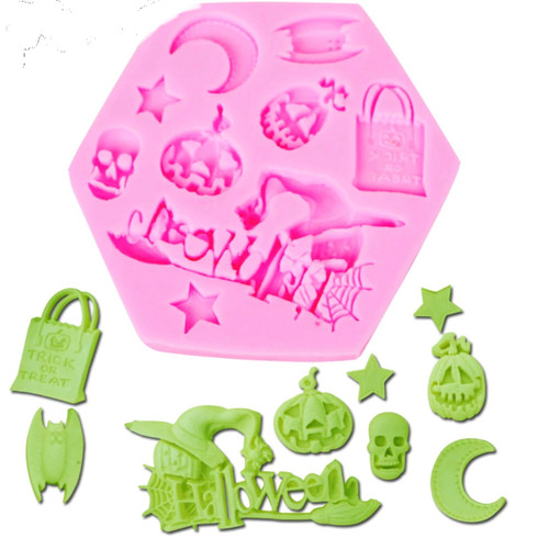 Halloween Mixed   Silione Mold