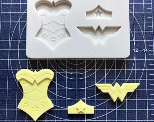 Wonder Women Silione Mold