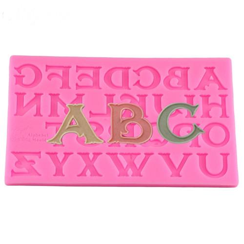 Alphabet  Silione Mold -103