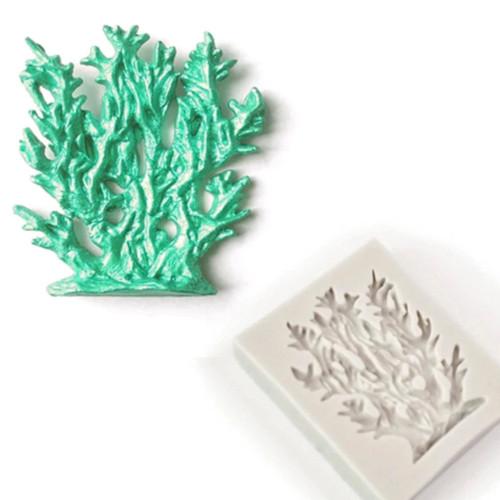 Seaweed Nautical Silcione Mold