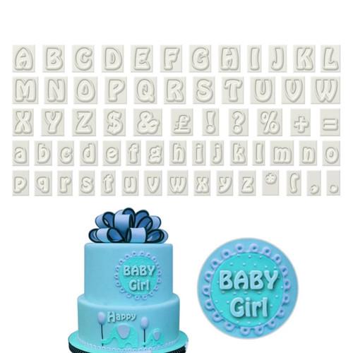 Alphabet / Letter cutter  Set