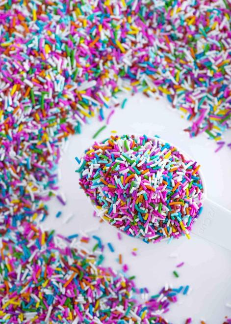 RAINBOW Crunchy Sprinkles