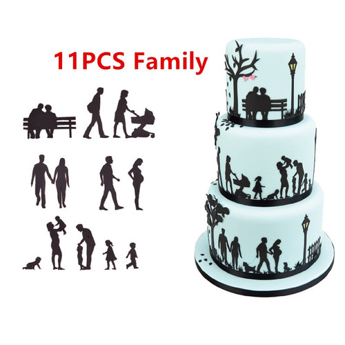 11pc Family  Cutter set