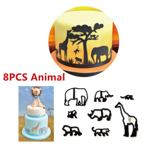 8PC Animal  Set