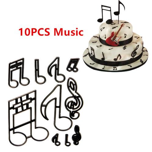 10pc  Music Cutter  Set