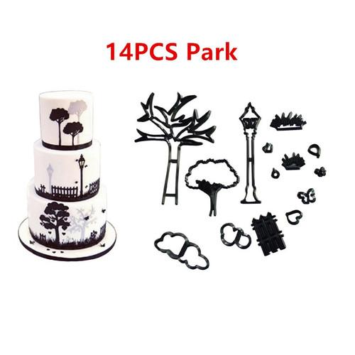 14pc  Park Cutter  Set