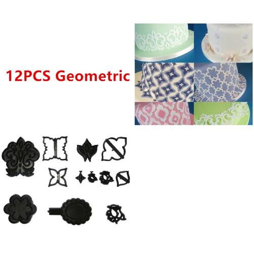 10pc Geometric Cutter  Set