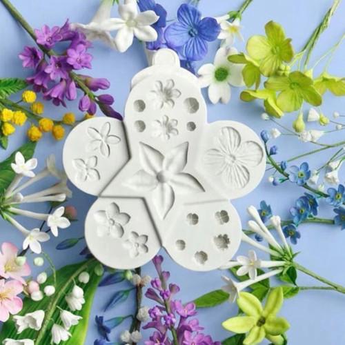 Assorted Flower mold