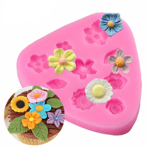 Mixed flower Mold PM473