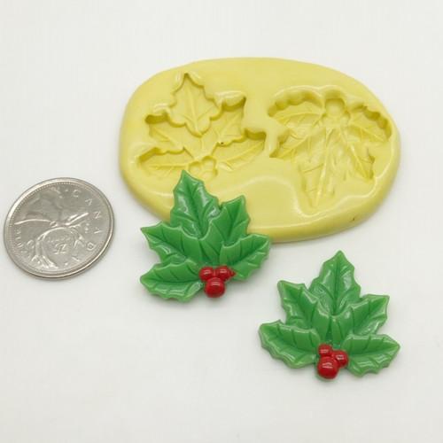Holly Leaf  Mold - z156