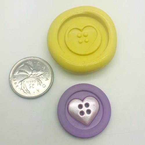Heart Button  - Z198