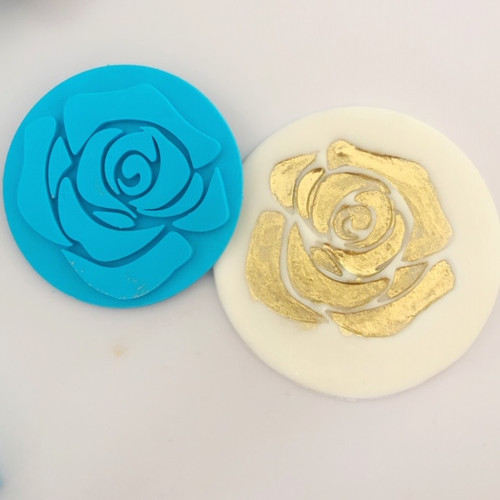 Rose  Fondant /Cookie Embosser