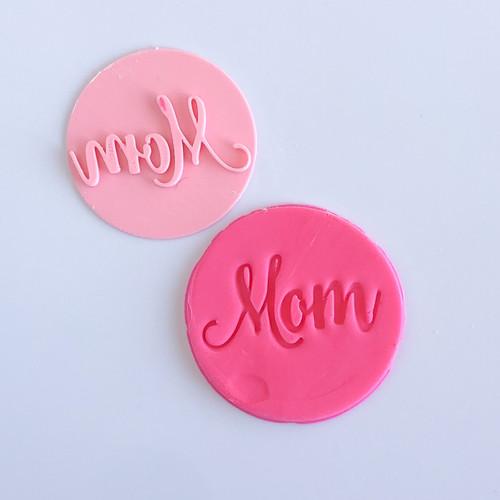 MOM fancy   Fondant /Cookie Embosser