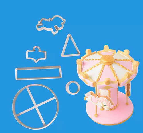 Carousel  Merry go round cutter