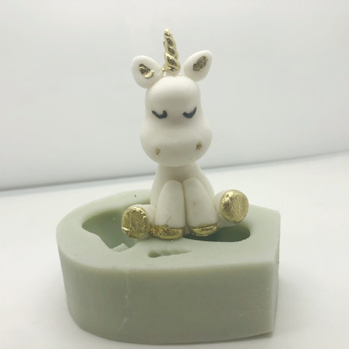 3d Cute Unicorn Mold