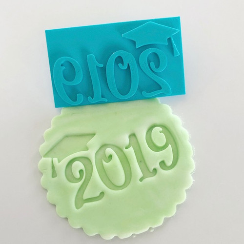 Graduation 2019  Fondant /Cookie Embosser